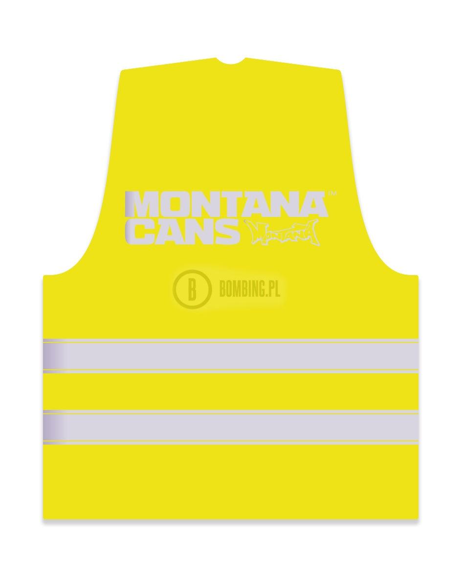 1909-MONTANA-STICKER-NEON-VEST-YELLOW