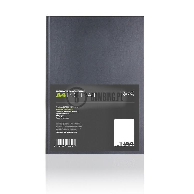BLACKBOOK A4 PORTRAIT MONTANA