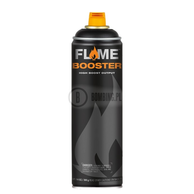 Flame Booster Black