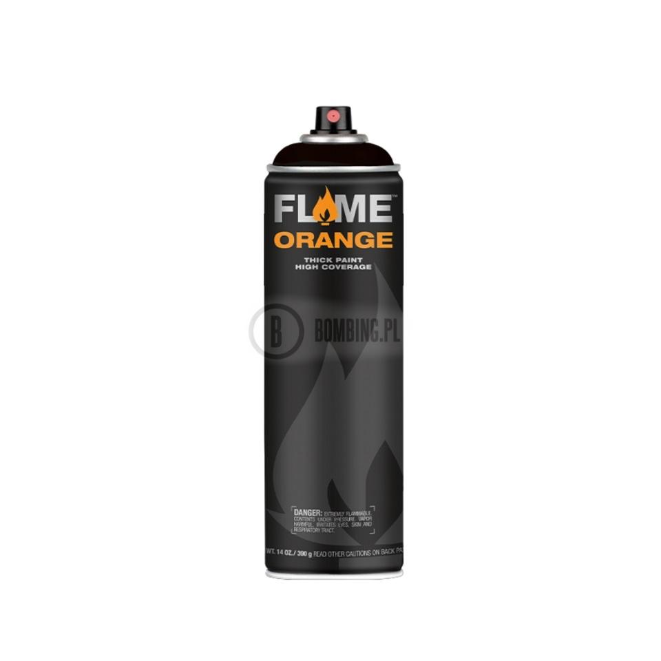Flame Orange Thick Black 500ml