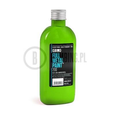 Grog Full Metal Paint Laser Green