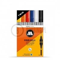 Molotow Acrylic Twin Basic Set 1