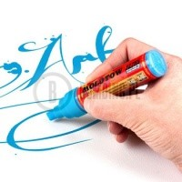 Molotow Marker 327HS Chisel Tip White