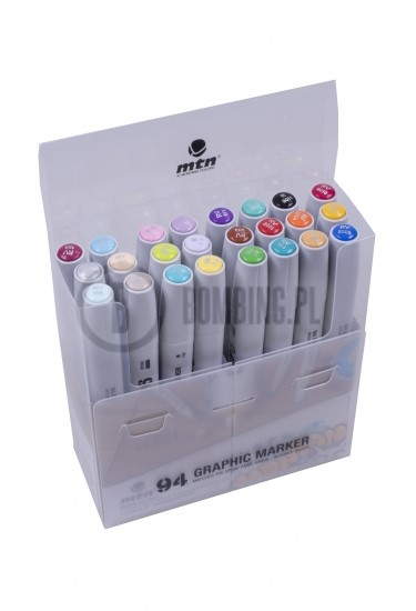 MTN Montana 94 Twin Marker Set 24szt Pastelowy