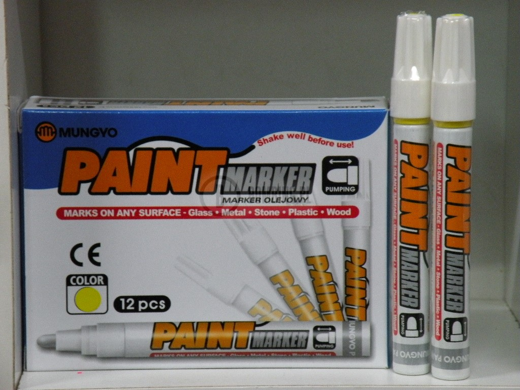 PAINT MARKER YELLOW