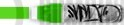 Rabeko Kolor Green 1.5cm