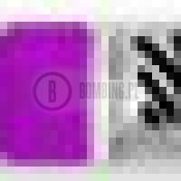 Rabeko Kolor Violet 1.5cm
