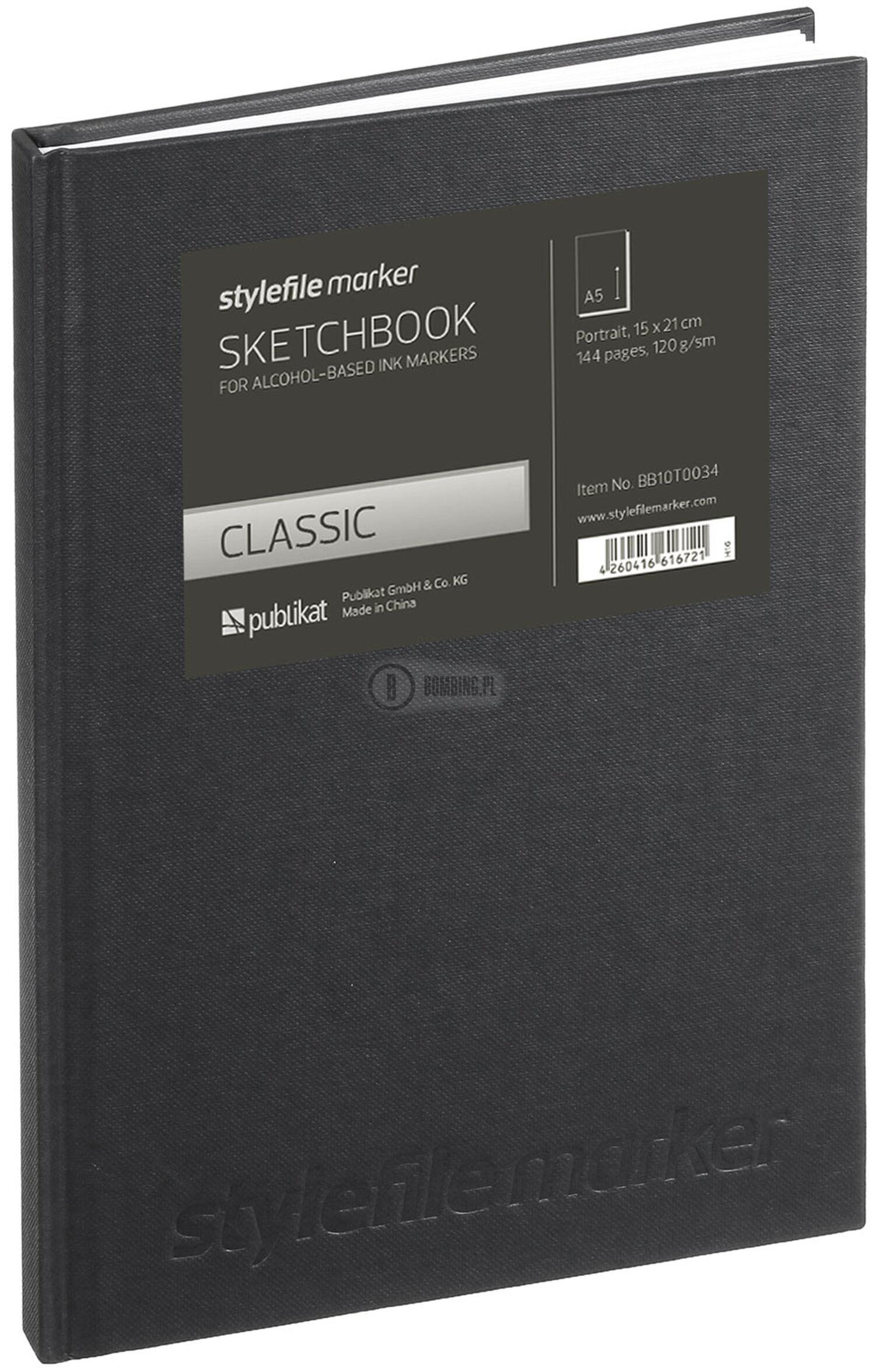Sketchbook Din A5 Vertikal