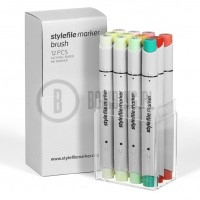 Stylefile Marker Brush 12 pcs set fruit