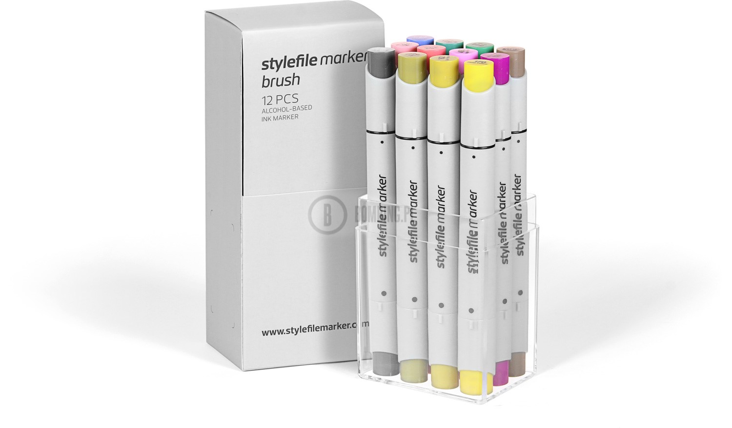 Stylefile Marker Brush 12 pcs set Multi 1
