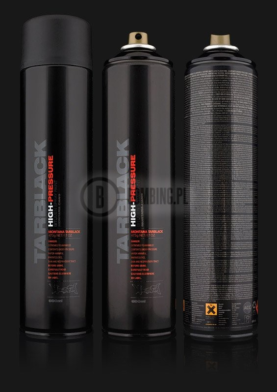 Tarblack 600ml High-Pressure