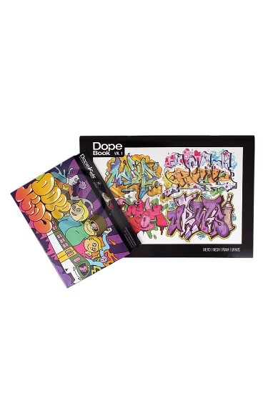 Zestaw Dope Cans KIDS Markers 12szt. + Dope Book Vol.1