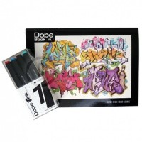 Zestaw Dope Cans Twin Markers 2.0. Basic Set 12szt. + Dope Book Vol.1