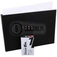 Zestaw markerów Dope Cans Twin Basic Set 12szt.+Blackbook A4